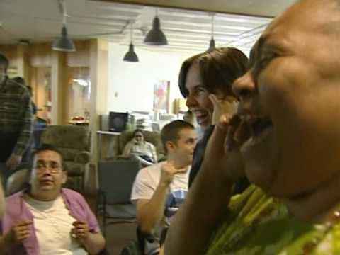 Therapeutic Laughter at the Rocky Mt. MS Center's KADEP Laughter Club in Denver, Colorado