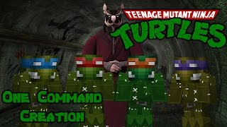 TEENAGE MUTANT NINJA TURTLES | One Command Creation: Minecraft