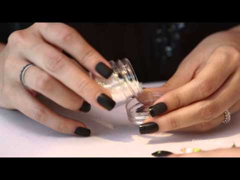 Black Cat Nail Art Manicure For Halloween | Celebrity Secret Weapon