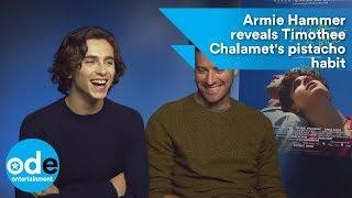Armie Hammer reveals Timothée Chalamet
