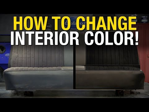 ColorBond - Change Interior Color on Leather, Vinyl, Fabric, Metal and Most Hard Plastics! Eastwood