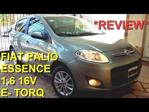 FIAT PALIO ESSENCE 1.6 16V REVIEW