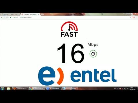 Internet Gratis para PC Entel Perú Funciona 2017