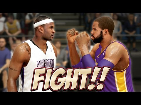 NBA 2K14 Next Gen MyCareer Fight Fight Fight ... Last Regular Season Game
