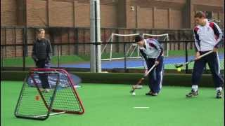 Coaching GB Hockey (Olympics 2012) with the Crazy Catch