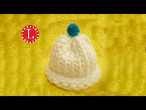 Loom Knit Preemie / Newborn Hat - Start to Finish