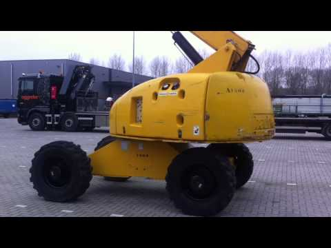 DPX Equipment: Haulotte H23 TPX 4x4 - 2003 (Moving)   DPX-3132