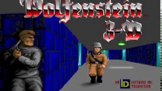 PC GAME懷舊-德軍總部 Wolfenstein 3D-ep3-Floor 1