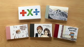 Five Flipbooks I gave ED SHEERAN!