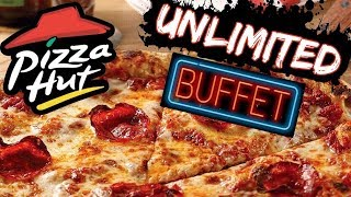 THE PIZZA HUT ALL YOU CAN EAT BUFFET CHALLENGE | C.O.B. Ep.78