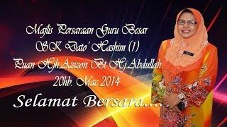 2014 Majlis Persaraan Guru Besar SK Dato Hashim 1