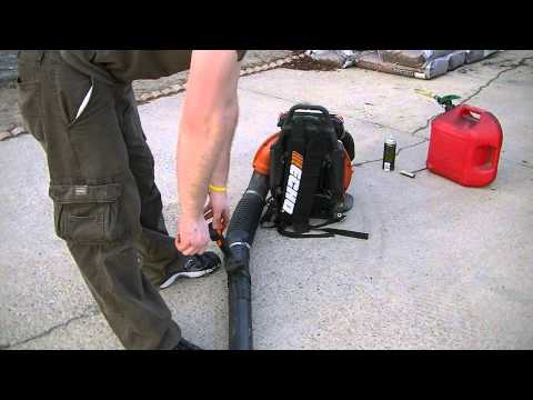 Echo PB-755T backpack blower