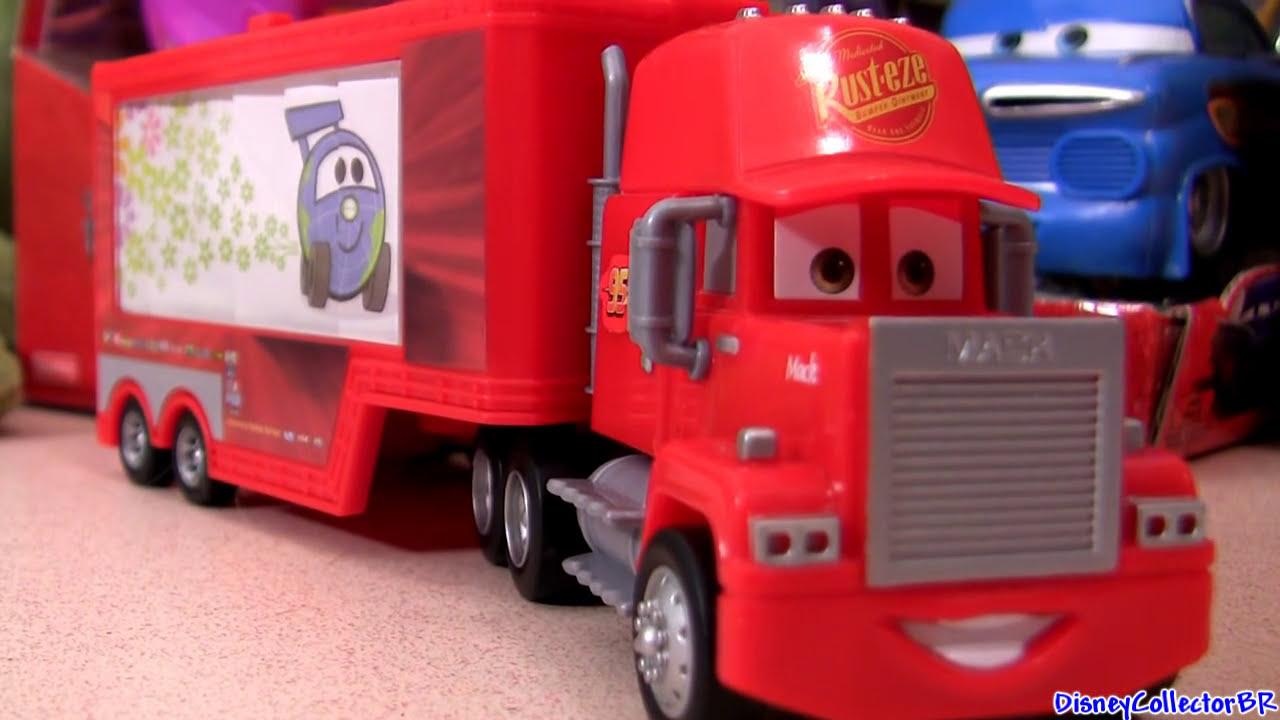carros 2 mack caminh227o da equipe rel226mpago mcqueen quick