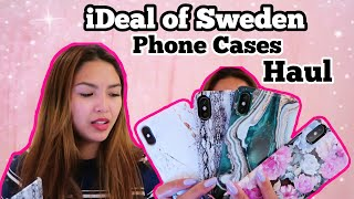 IDEAL OF SWEDEN | IPHONE XS MAX PHONE CASES HAUL
