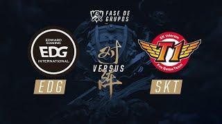 EDG x SKT (Fase de Grupos - Dia 2) - Mundial 2017