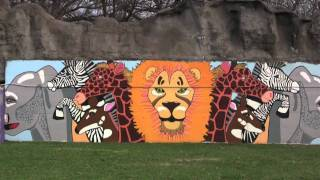 Maryland Zoo Mural