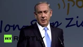 Netanyahu: Hitler didn't want to exterminate Jews