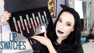 NEW Anastasia Beverly Hills Spring 2018 Liquid Lipsticks ALL 11 SHADES TRY ON LIP SWATCHES + Review