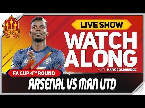Arsenal vs Manchester United  Watchalong