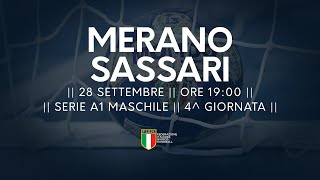 Serie A1M [4^]: Merano - Sassari 28-25