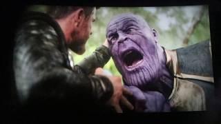 Thor vs Thanos (2/2) Avengers: Infinity War IMAX Clip