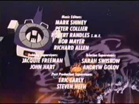 (G1) The Transformers: Season 3 closing credits