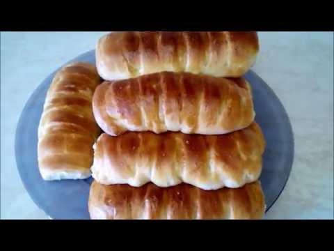 Домашние булочки .Булочки крем де Паризьен Рецепт булочек из дрожжевого теста