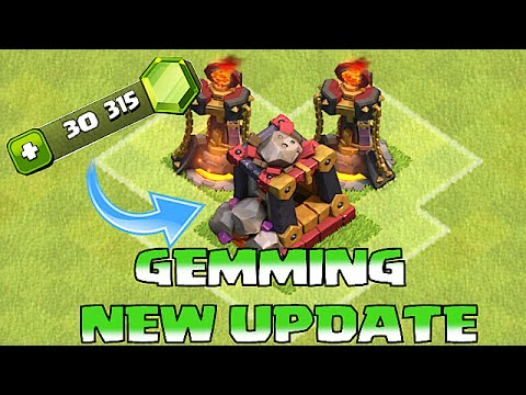 Clash Of Clans - BUYING NEW UPDATE (ALL GOBLIN TROLL RAIDS)