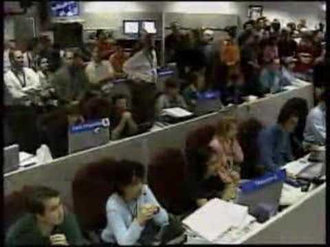 Mars Rover Opportunity Landing