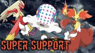 Blacephalon Support Showcase Pokemon Duel