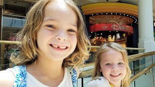 Daddy Daughter Day at the Mall ~ Disney Store ~ Chipotle ~ Tesla Store!!