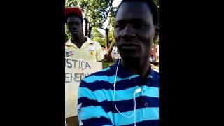 Marche des sénégalais de Tapejara (Brésil)