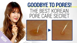 Korean Pore Care Secret With The Best Pore Minimizing Products | Wishtrend