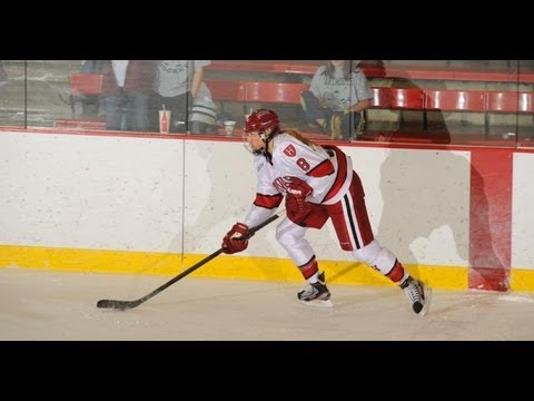 Postgame Reaction: Harvard Women's Hockey at Cornell
