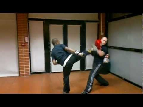 French boxing - USF Boxe Française Savate - fight - Krav Maga - WWE RAW Image 1