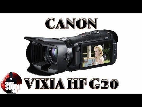 Canon Vixia HF G20 Review and Unboxing
