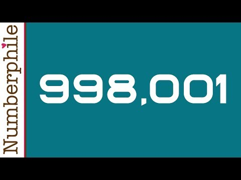 998,001 and its Mysterious Recurring Decimals - Numberphile Music Videos
