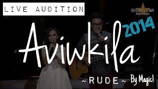 """download lagu 15econds """"rude"""" Magic   Rising Star Indonesia Live gratis"""