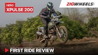 Hero XPulse 200 First Ride Review | More than an Impulse replacement? | ZigWheels.com