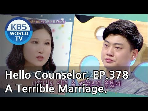 I want to end this terrible marriage. [Hello Counselor Sub:ENG,THA/2018.09.03]
