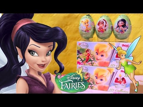 9 Tinkerbell And The Great Fairy Rescue! Surprise Eggs! And The Great Fairy Rescue Tinker Bell video