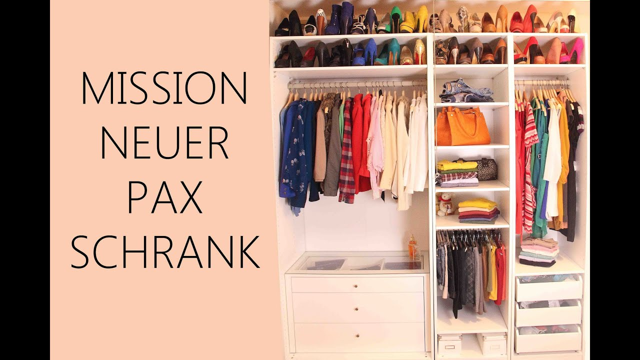 Wandsticker Kinderzimmer Ikea ~ MISSION NEUER PAX SCHRANK  YouTube