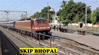 Delhi Yesvantpur Duronto Ignores Skips Bhopal Junction
