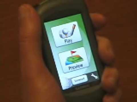 GARMIN APPROACH G5 Golf GPS Video