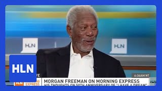 Morgan Freeman on Trayvon and race in America
