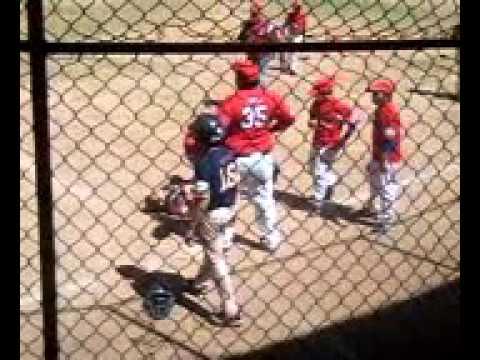 Pelea  en beisbol infantil...
