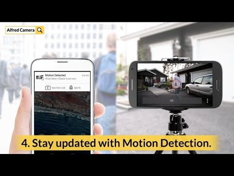 Alfred Home Security Camera APK Cover