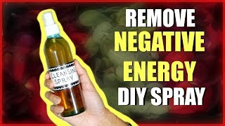 REMOVE NEGATIVE ENERGY DIY SPRAY! │CLEANSE YOUR SPACE & REMOVE NEGATIVITY INSTANTLY W/ ROSES & SAGE