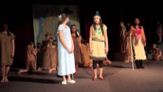 Micayla's solo as Tiger Lily in Peter Pan Jr