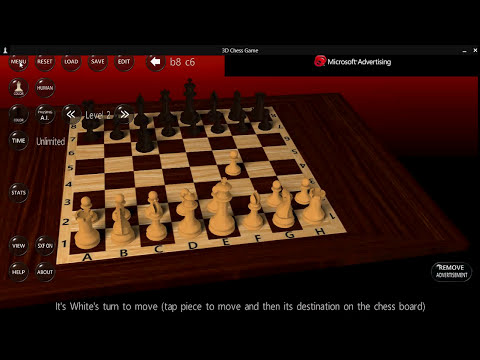 Windows 8.1 3D chess game free review